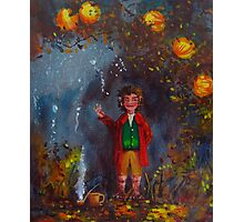 The party speech (Bilbo Baggins). Photographic Print