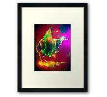 Black Rider Framed Print