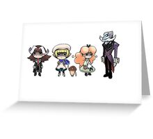 Touch Detective Group 2 Greeting Card