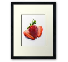 Delicious Strawberries  Framed Print