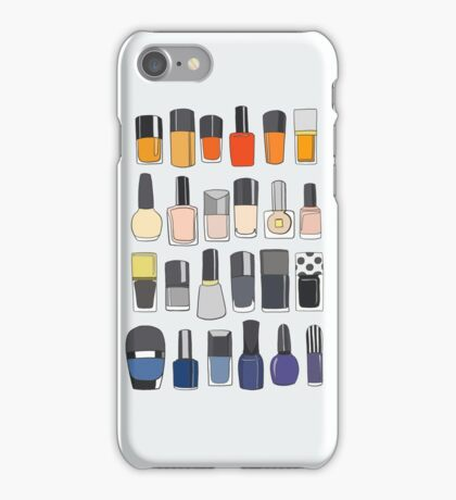 My nail polish collection iPhone Case/Skin