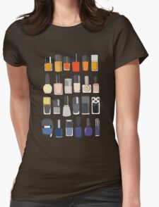 My nail polish collection Womens Fitted T-Shirt