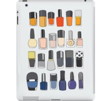 My nail polish collection iPad Case/Skin
