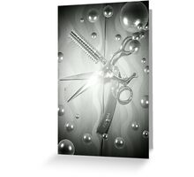 Spotlight Shears Greeting Card
