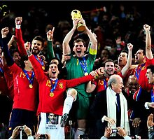 Spain 2010 World Cup Champion by Enriic7