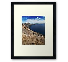 Crater Lake Framed Print