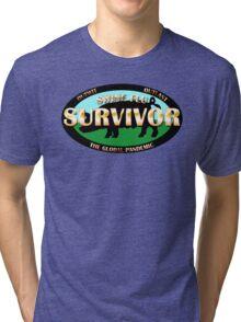 Survivor - Swine Flu Tri-blend T-Shirt