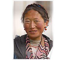 Tibetan girl (III) Poster