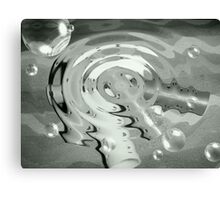Drop on Rollers Canvas Print