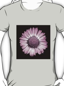Retro Daisy in Pink T-Shirt