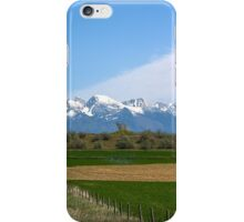The Missions from Moiese Valley 2 iPhone Case/Skin
