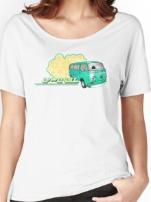 Volkswagen Kombi Tee shirt - Retro Lowlight Kombi Women's Relaxed Fit T-Shirt