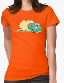Volkswagen Kombi Tee shirt - Retro Lowlight Kombi Womens Fitted T-Shirt