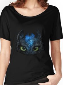 Toothless Pencil Drawing Women's Relaxed Fit T-Shirt