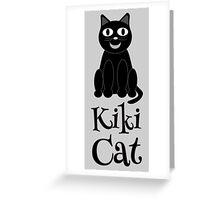 Kiki Cat  Greeting Card
