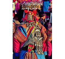 Lisu dress Photographic Print