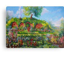 Summer In The Shire Canvas Print