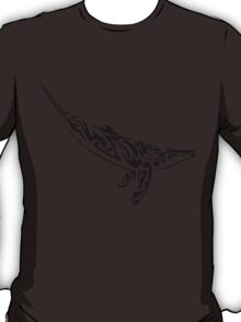 Tribal Whale T-Shirt