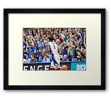 Kyrie Irving Duke  Framed Print
