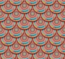Endless mandala Sticker