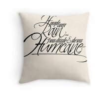 If people were rain Throw Pillow