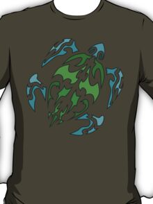 Green Shell Turtle T-Shirt