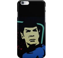 Retro Spock iPhone Case/Skin