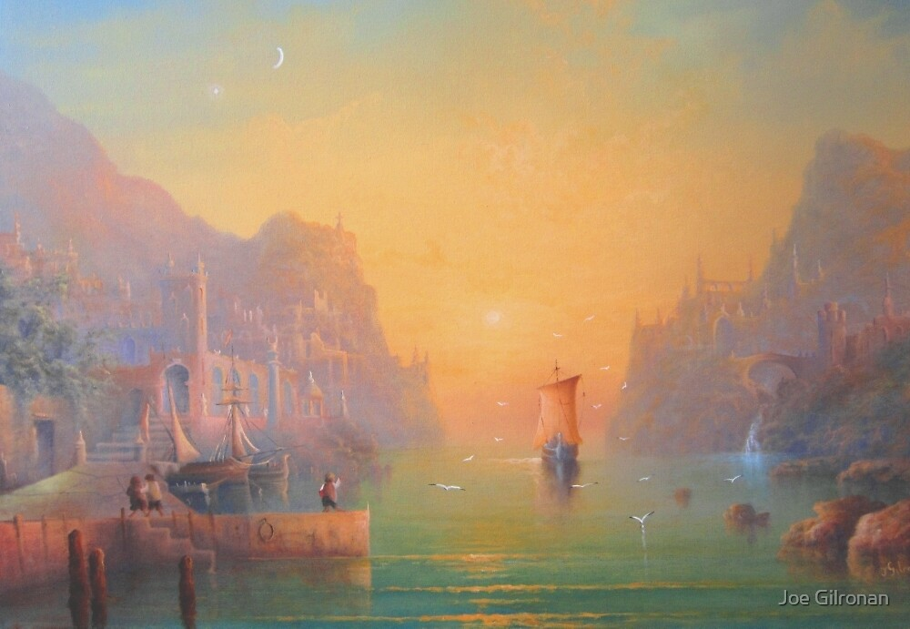 The Gulls Lament (Departing the havens) by Joe Gilronan