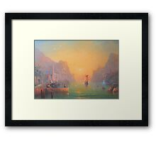 The Gulls Lament (Departing the havens) Framed Print
