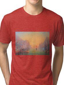 The Gulls Lament (Departing the havens) Tri-blend T-Shirt