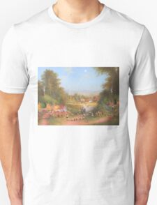 Gandalf's Return Fireworks In The Shire oil on canvas   T-Shirt