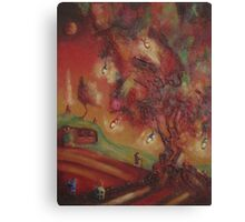 The Party Tree Bilbo Baggins Canvas Print