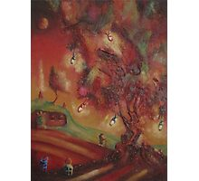 The Party Tree Bilbo Baggins Photographic Print
