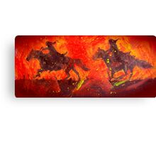 Black Riders Tolkien inspired art Canvas Print