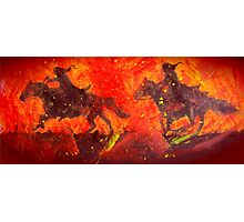 Black Riders Tolkien inspired art Photographic Print