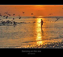 Dancing on the sea by Adri  Padmos