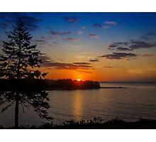 Charlos Cove Sunrise Photographic Print