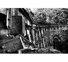 Puffing Billy Bridge Photographic Print