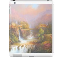 Rivendell A Hobbits Tale iPad Case/Skin