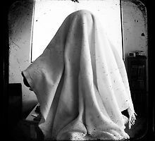 Self Portrait with Blanket by ADMarshall