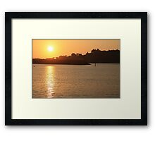 Dance of Gold Framed Print