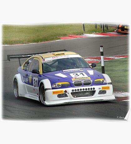 Michael Symons E46 GTR   Poster