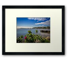 Chester Harbour Yacht Club Framed Print