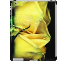 Two yellow roses iPad Case/Skin