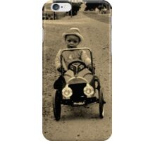 out the way mister iPhone Case/Skin