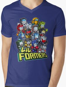 Lil Formers Good Guys Mens V-Neck T-Shirt