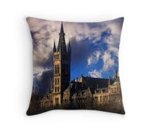 The Landmark Throw Pillow