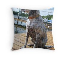 Penny Lu in Color Throw Pillow