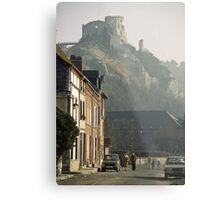 1984 Richard's Castle les Andelays Metal Print