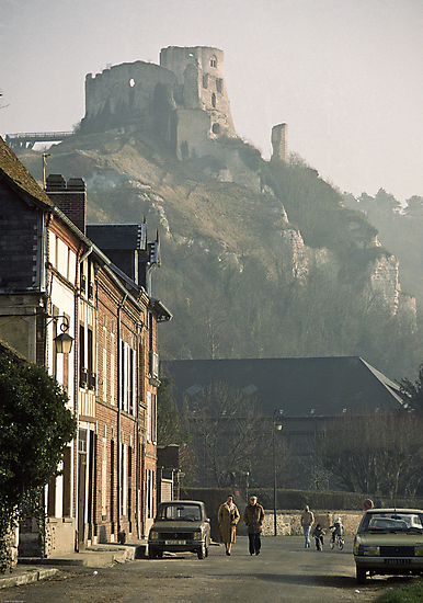 1984 Richard's Castle les Andelays by Fred Mitchell